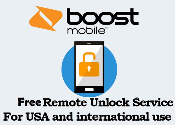 Boost Mobile Unlock Pin