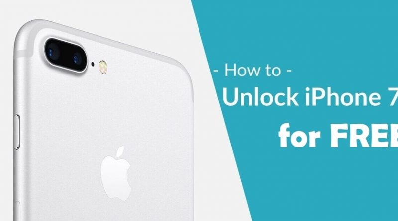 HOW TO UNLOCK IPHONE 7 FREE