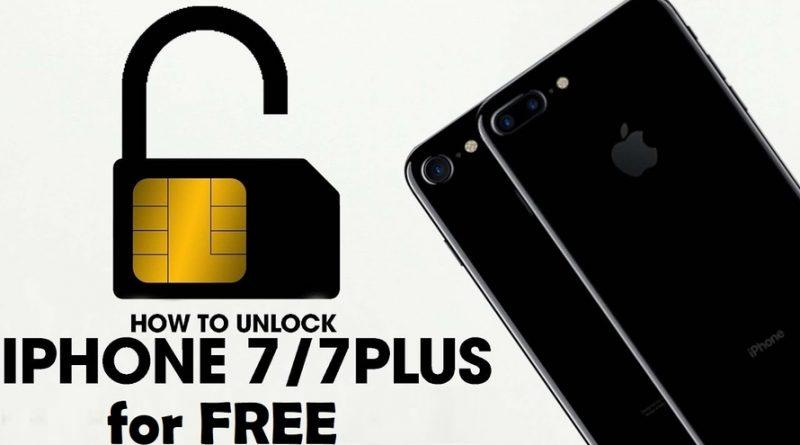 how to UNLOCK IPHONE 7 PLUS FREE